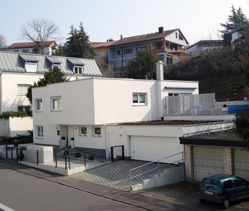 Haus Flachdach modern